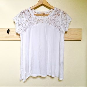 • DKNY JEANS Lace Top